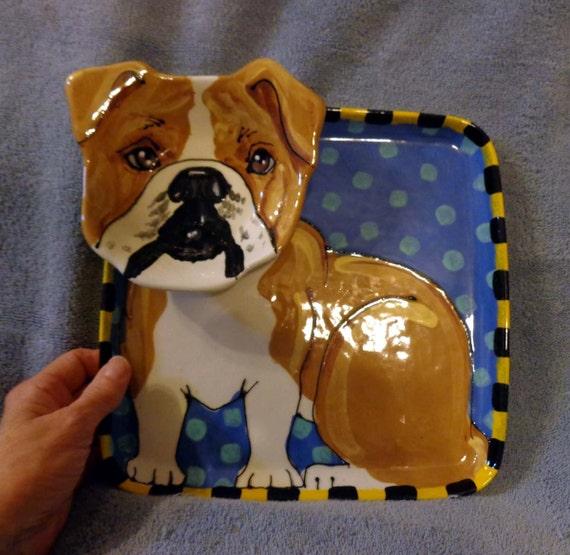 Bulldog Chip and Dip Tray