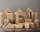 Vintage Wooden Blocks