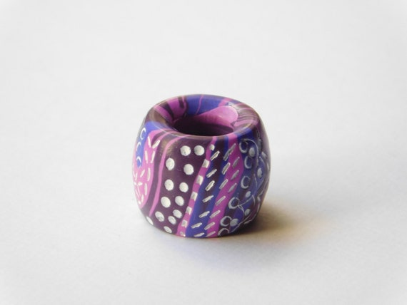 LILAC//PURPLE LIQUORICE ALLSORTS BEADS POLYMER FIMO YOU GET 40 BEADS NEW!!