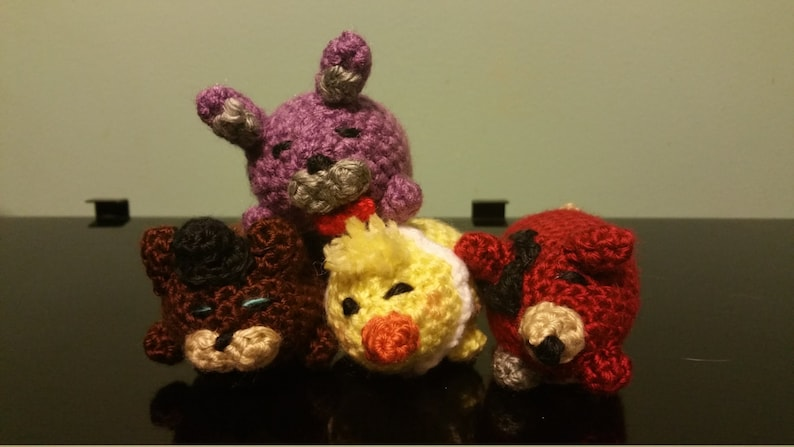 Five Nights at Freddy's Inspired Tsum Tsum collection 1 pattern