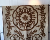 VINTAGE Moroccan-Ethnic Suzani Print Double Sided Blanket