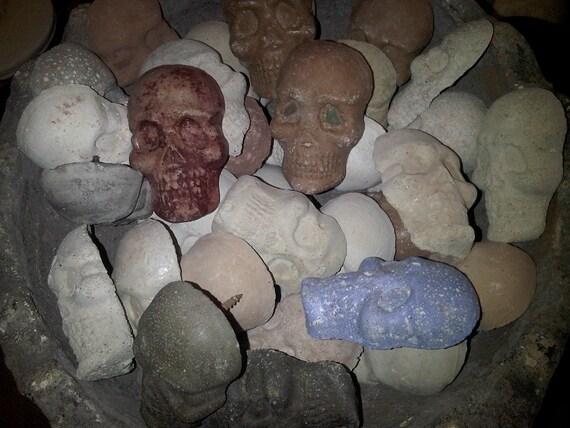 Concrete Skull tile