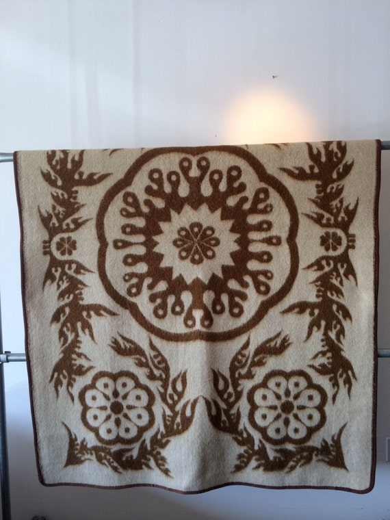 VINTAGE Moroccan-Ethnic Suzani Print Double Sided Blanket