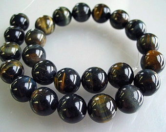 Blue Tiger Eye 8mm - 1/2 strands