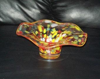 Vintage- Hand Blown Decorative Glass Art
