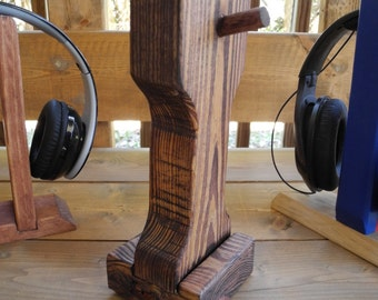 WoodyTunes Skull Headphone Stand