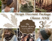 Design Discount Pattern Package CHOOSE ANY 3 photo