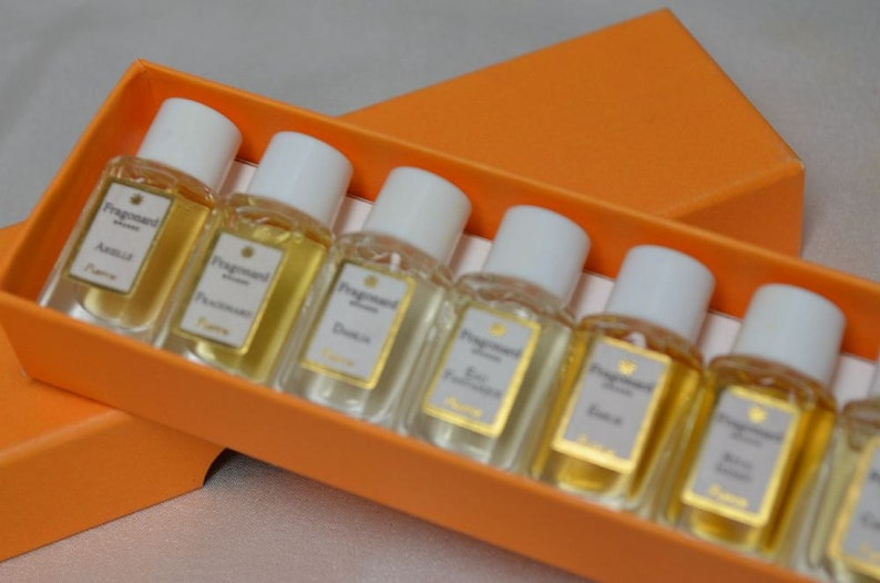 Boxed Set Fragonard Perfumes Miniature Mini Perfumes 10 Etsy