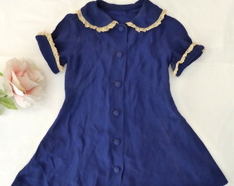 0cf9c915d Blue girls dress