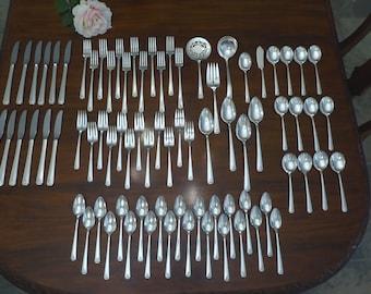 Oneida BORDEAUX Prestige Silver Plate 1945 Silverware Flatware CHOICE