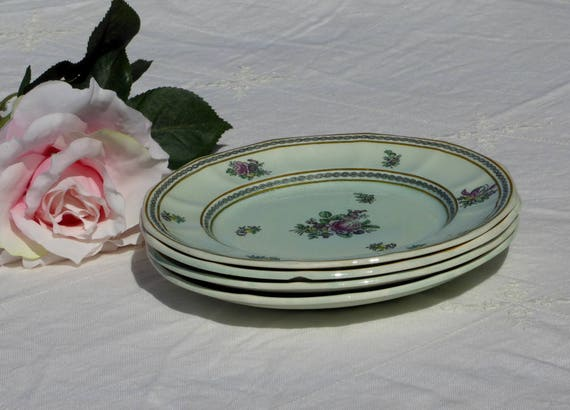 Adams Calyx Ware Nanking Four 8 Plate 2291 Old Date Etsy