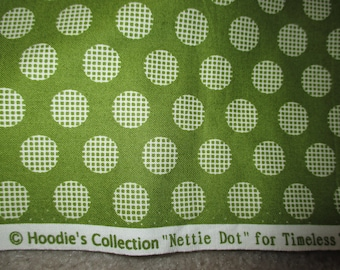 by the yard  Hoodie's Collection Nettie Dot Timeless Treasures