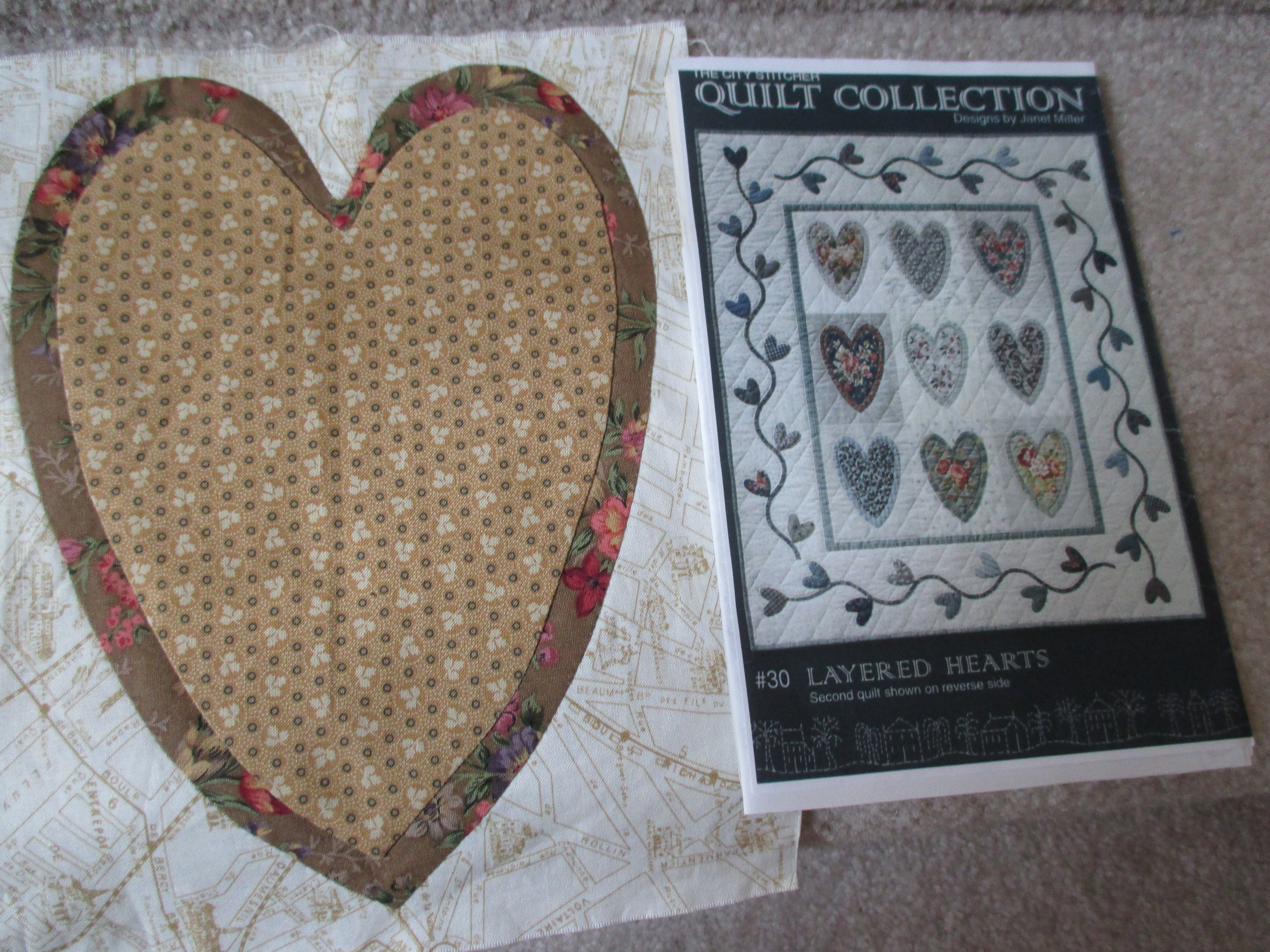 Quilting valentine s hearts using charm packs youtube