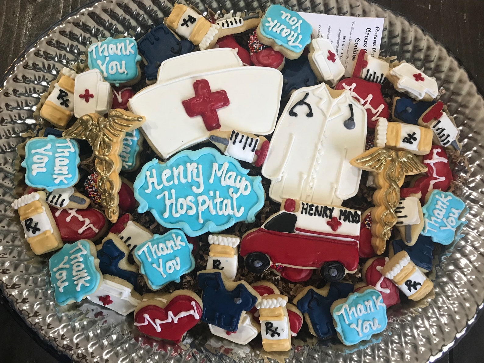 Healthcare Medical Workers Frontline Thank You Cookies Page Two