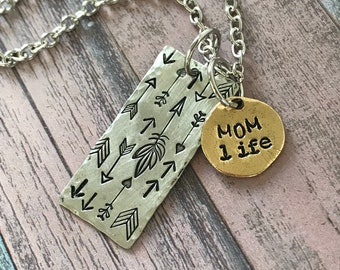 Mom Life Necklace
