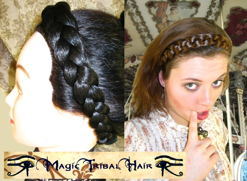 color matches samples REFUNDED on RETURN /& ORDER for Headbands tiaras hairbands Fantasy hair pieces 22 inch 55 cm custom wig Wedding Bride