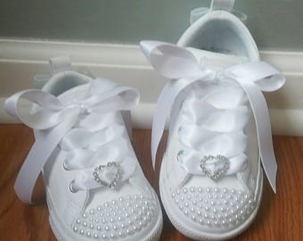 Pearl Converse Shoes For Toddler Girls fa45e2efd