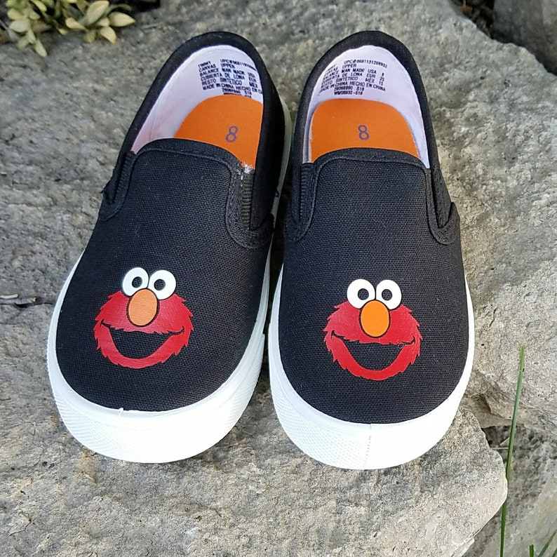 3899d94896a3 Elmo Shoes Glitter or regular you choose Baby Toddler Free