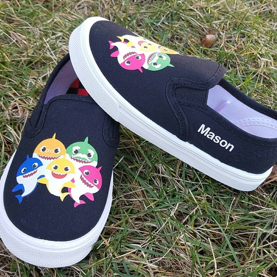 shipping Baby Shark Shoes Personalized