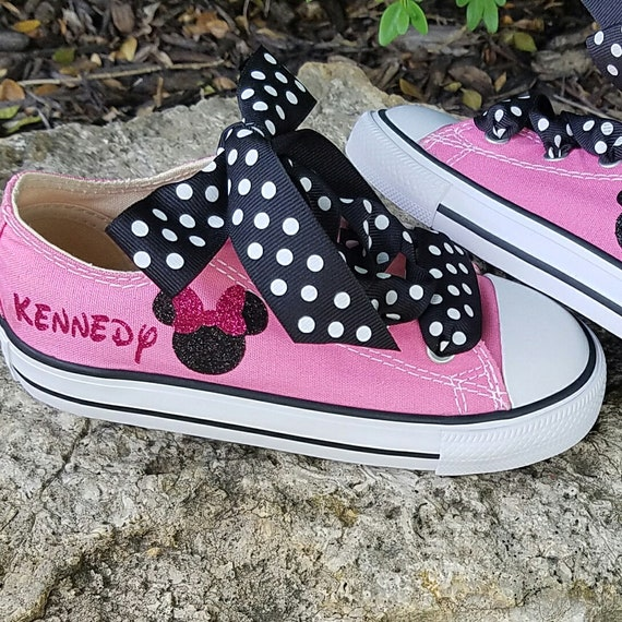 d4f66d462f6 ... shop sneakers shoes shopping ab791 38906 pink converse minnie mouse  infant toddler glitter sparkle aed4b 79a12 ...