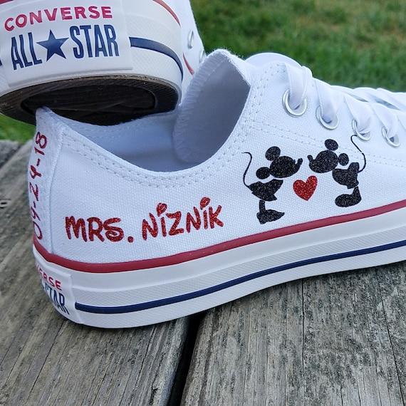 Wedding Converse Mickey and Minnie