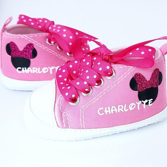 grande vente au rabais les ventes chaudes recherche d'officiel Tenue de Minnie Mouse, bébé fille chaussure, chaussures de bébé  personnalisé, chaussures bébé, chaussures pour bébés, chaussure fille  infantile, ...