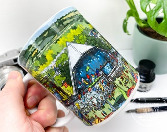 Pyramid Stage Glastonbury - 11oz Coffee Mug