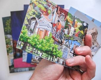 Illustrated Postcard Set (Pack of 16)