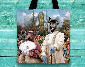 Thai Ridgeback Dog Art Tote Bag  by Nobility Dogs Arts