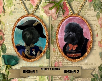Affenpinscher Dog Jewelry Handmade Gifts by Nobility Dogs