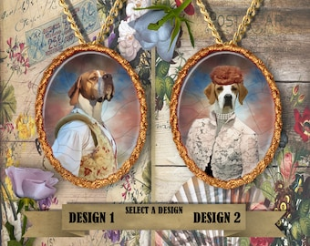 English Pointer Jewelry. Handmade Gifts by Nobility Dogs