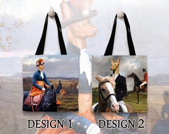 Pharaoh Hound Tote Bag   Personalized Tote Bag  by Nobility Dogs Arts