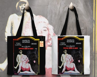 Briard Art Tote Bag  Some Like It Hot Movie Poster