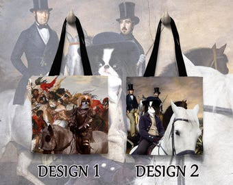 Japanese Chin Tote Bag   by Nobility Dogs Arts