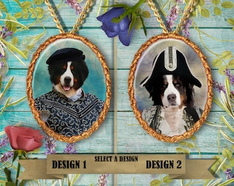 Bernese Mountain Dog Jewelry Handmade Gifts by Nobility Dogs