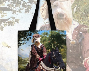 Soft Coated Wheaten Terrier Art Tote Bag  by Nobility Dogs Arts