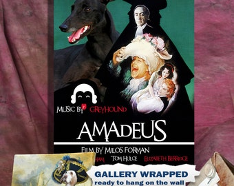 Greyhound Art Print Amadeus Movie Poster