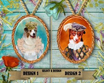Australian Shepherd Jewelry Handmade by Nobility Dogs
