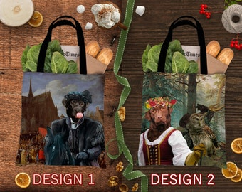 Christmas Gifts Labrador Retriever Dog Art Tote Bag  Gift for Her by Nobility Dogs Arts by Nobility Dogs Arts