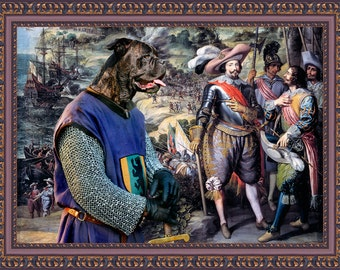 Cane Corso Art Canvas Print Dog Lover  Gifts by Nobility Dogs