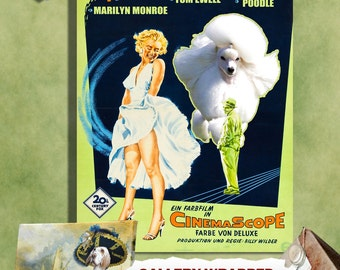 Poodle Art Print The Seven Year Itch Movie Poster
