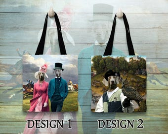 Weimaraner Tote Bag   by Nobility Dogs Arts