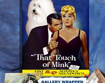 Coton de Tulear Print Art That Touch of Mink Movie Poster