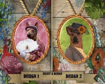 Thai Ridgeback Jewelry Handmade Gift, Personalized Pet Gifts, Custom Dog Pendant by Nobility Dogs