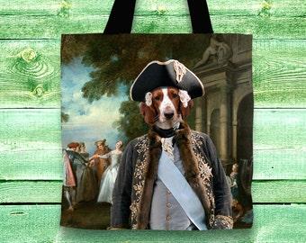 Welsh Springer Spaniel Art Tote Bag    by Nobility Dogs Arts