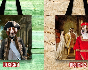 Christmas Gifts Welsh Springer Spaniel Tote Bag  Gift for Her by Nobility Dogs Arts