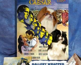 Japanese Chin Art Print Julius Caesar Movie Poster