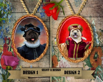 Cairn Terrier Jewelry Handmade Gifts by Nobility Dogs