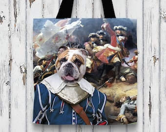 English BullTote Bag   Dog  by Nobility Dogs Arts