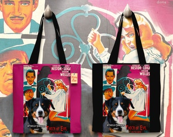 Appenzell Cattle Dog   Appenzeller Mountain Dog   Appenzeller Sennenhund Art Tote Bag by Nobility Dogs
